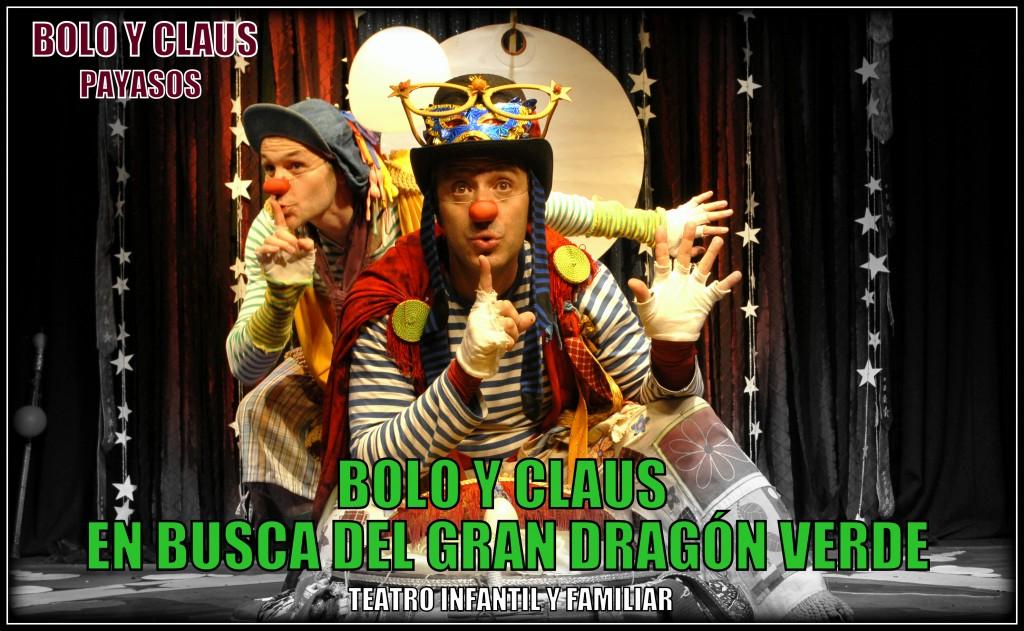 Bolo y Claus. Payasos