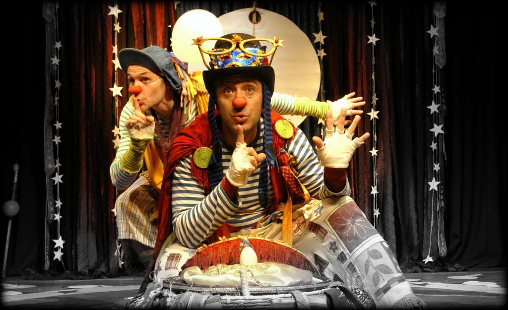 Bolo y Claus. Clowns